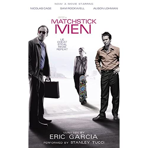 Image 0 of Matchstick Men By Garcia Eric Tucci Stanley Reader On Audio Cassette