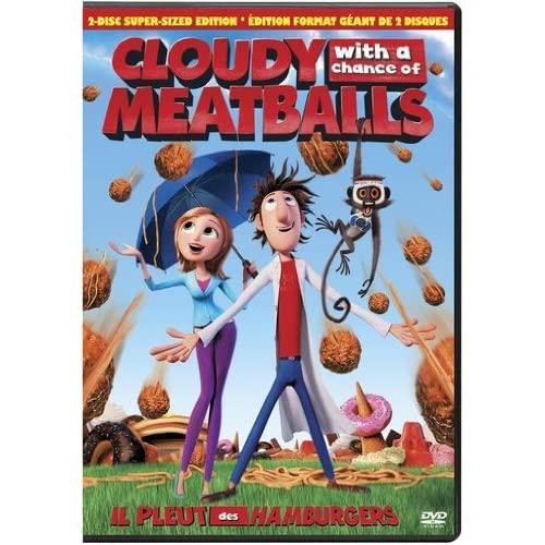 Image 0 of Cloudy With A Chance Of Meatballs Aws On DVD