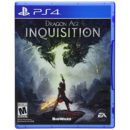 Dragon Age Inquisition Standard Edition For PlayStation 4 PS4 RPG