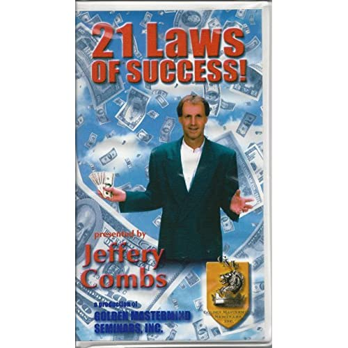 21 Laws Of Success By Jeffery Combs On Audio Cassette