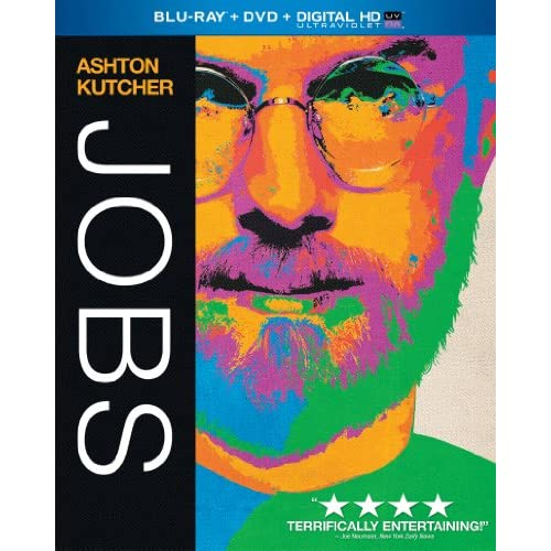 Jobs Blu-Ray On Blu-Ray With Ashton Kutcher Drama