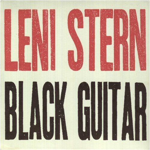 Image 0 of Black Guitar By Leni Stern On Audio CD Album 1997