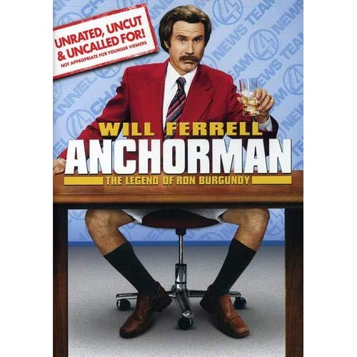 Image 0 of Anchorman: The Legend Of Ron Burgundy Unrated Widescreen Edition On DVD With Wil