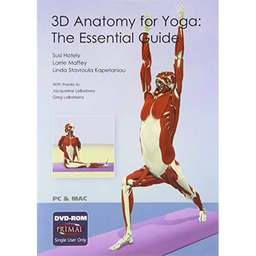 3D Anatomy For Yoga: The Essential Guide DVD Software