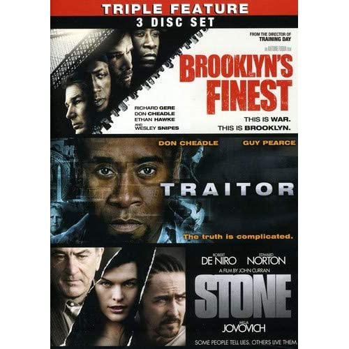 Image 0 of Brooklyn's Finest / Traitor / Stone Three-Pack On DVD With Richard Gere 3