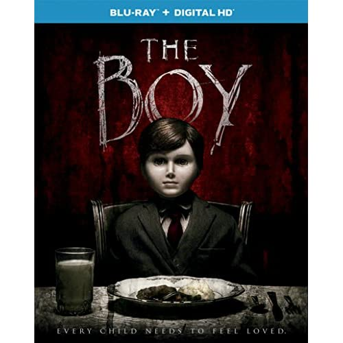 Image 0 of The Boy 2016 Blu-Ray On Blu-Ray With Lauren Cohan Horror