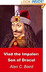 Book cover: painting (ca. 1560) of Vlad from the Ambras Castle in Austria, reportedly a copy of a portrait made during his lifetime (1431-1476).