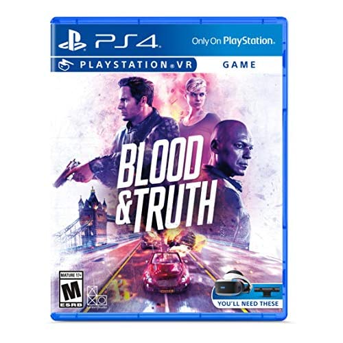Blood And Truth VR For PlayStation 4 PS4 Shooter