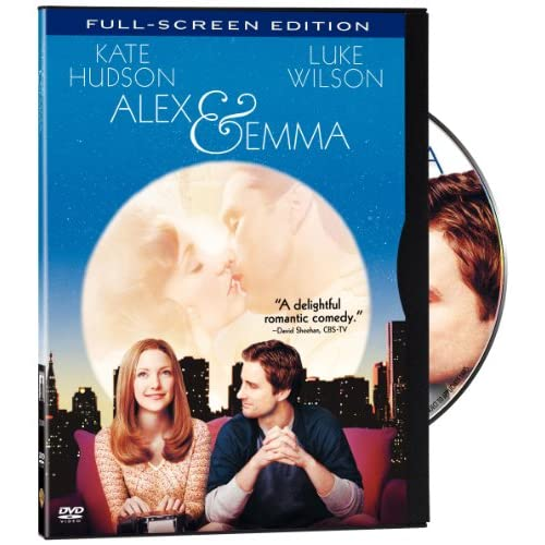 Image 0 of Alex And Emma Full Screen Edition On DVD With Luke Wilson Romance