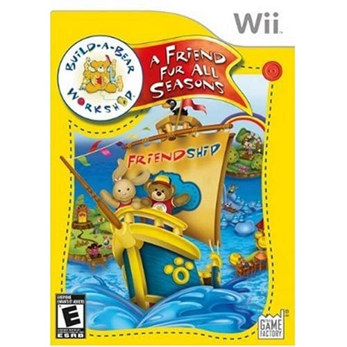 Image 0 of Build-A-Bear Workshop: A Friend Fur All Seasons For Wii And Wii U