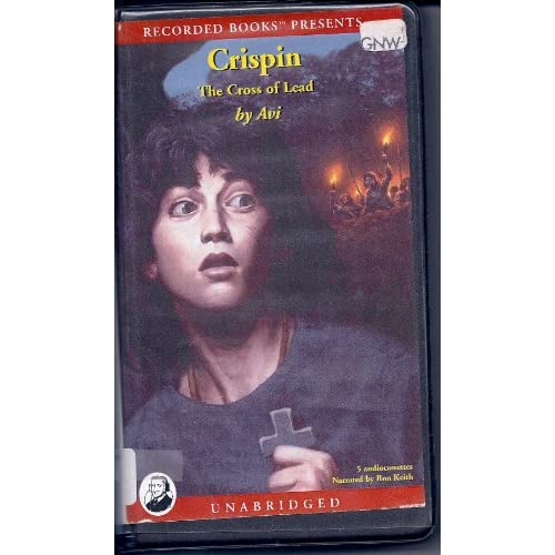 Image 0 of Crispin: The Cross Of Lead By Avi Ron Keith Narrator On Audio Cassette