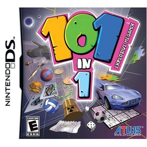 101-IN-1 Explosive Megamix For Nintendo DS DSi 3DS 2DS Arcade