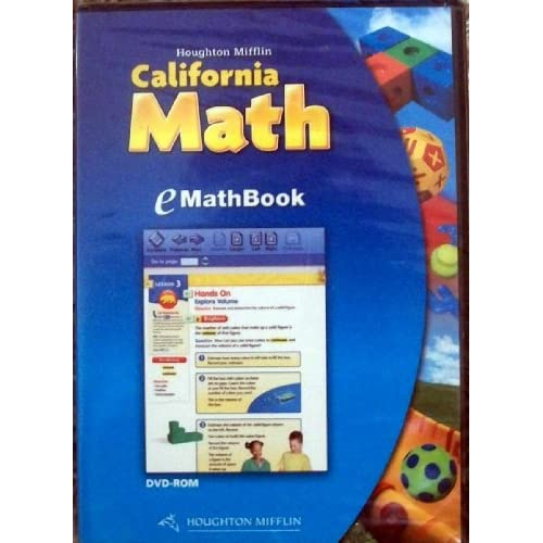 California Math: eMathBook Level 1 Software