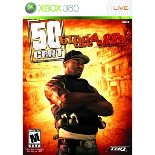 50 Cent: Blood On The Sand For Xbox 360 Fighting