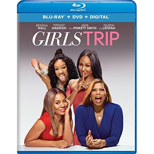 Image 0 of Girls Trip Blu-Ray On Blu-Ray With Regina Hall Comedy