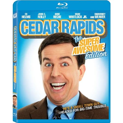 Cedar Rapids Blu-Ray On Blu-Ray With Ed Helms