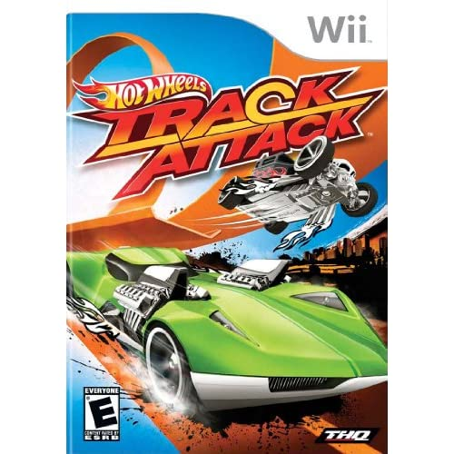 Image 0 of Hot Wheels Track Attack For Wii With Manual And Case