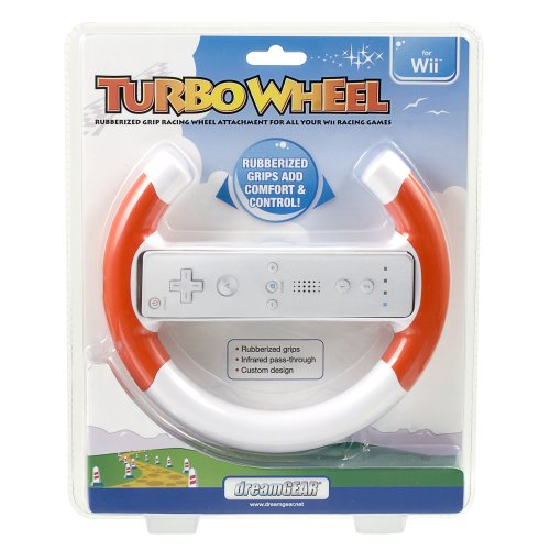 Image 0 of Dreamgear Turbo Wheel Red For Wii And Wii U