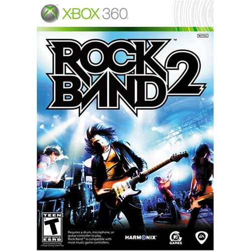 Rock Band 2 Game Only For Xbox 360 Music