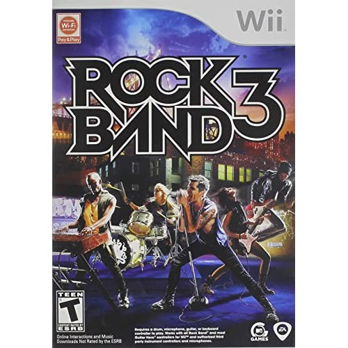 Image 0 of Rock Band 3 For Wii Music