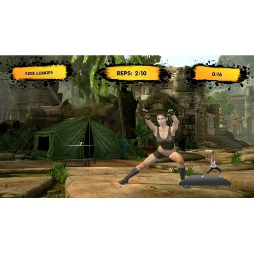 Image 3 of Jillian Michaels Fitness Adventure For Xbox 360 With Manual and Case