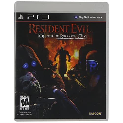 Resident Evil: Operation Raccoon City For PlayStation 3 PS3 Shooter