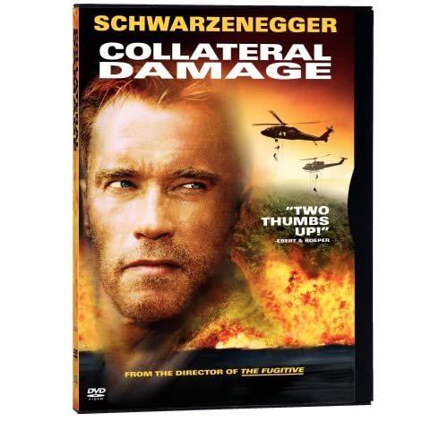 Image 0 of Collateral Damage On DVD With Arnold Schwarzenegger