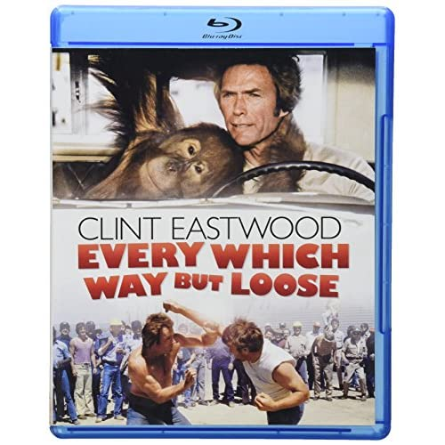 Every Which Way But Loose Bd Blu-Ray On Blu-Ray With Clint Eastwood