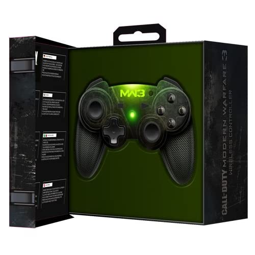 Image 0 of PDP PS3 Call Of Duty: MW3 Wireless Controller For PlayStation 3 COD Black Gamepa