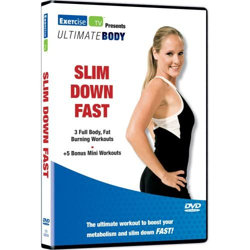 ultimate body slim down fast on dvd with cindy whitmarsh exercise. Black Bedroom Furniture Sets. Home Design Ideas
