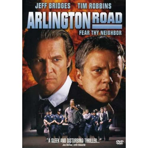 Image 0 of Arlington Road On DVD With Jeff Bridges Mystery