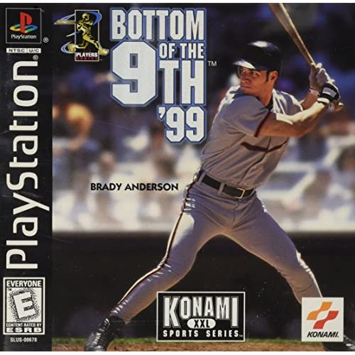 Bottom Of The 9th '99 For PlayStation 1 PS1 With Manual and Case