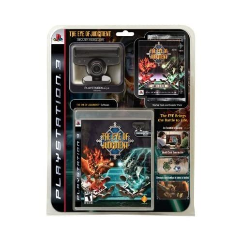 Image 0 of Eye Of Judgment Bundle With Game PS3 Eye Camera Stand Starter Deck Booster Pack