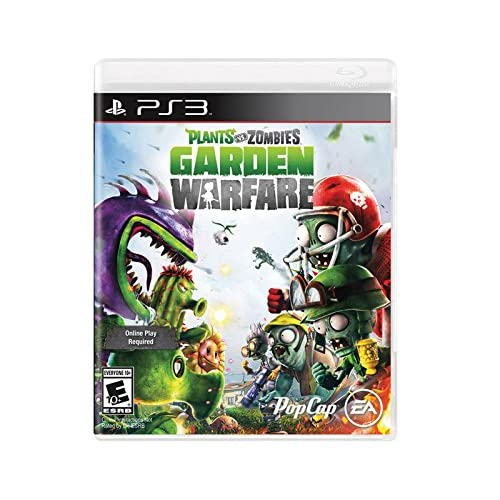 Image 0 of Plants Vs Zombies Garden Warfareonline Play Required For PlayStation 3 PS3 Shoot