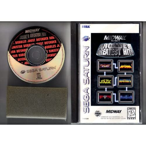Midway Presents Arcade's Greatest Hits For Sega Saturn Vintage