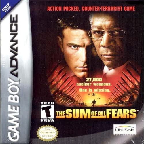 Image 0 of Sum Of All Fears GBA For GBA Gameboy Advance Action
