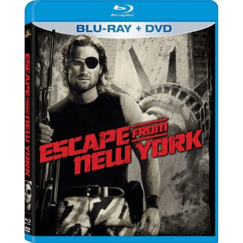 Escape From New York Two-Disc Blu-Ray/dvd Combo In Packaging On Blu-Ray With Kur