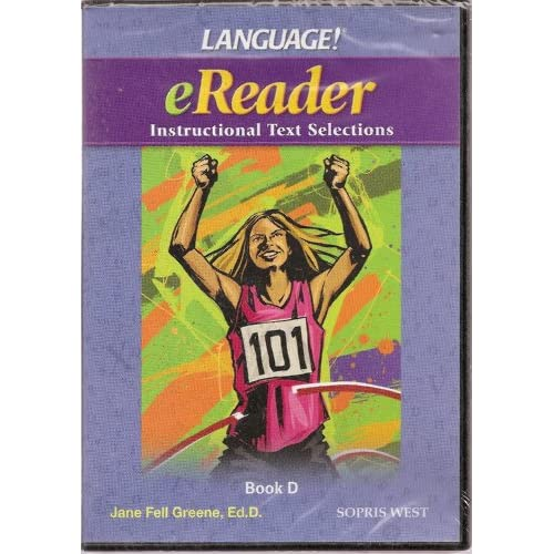 Language! eReader Al Text Selections Software Book D By Sopris West