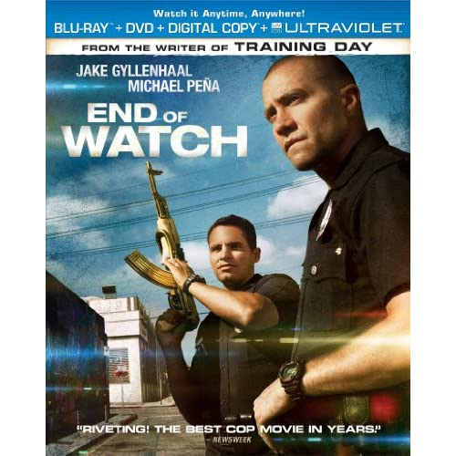 End Of Watch Blu-Ray On Blu-Ray With Jake Gyllenhaal