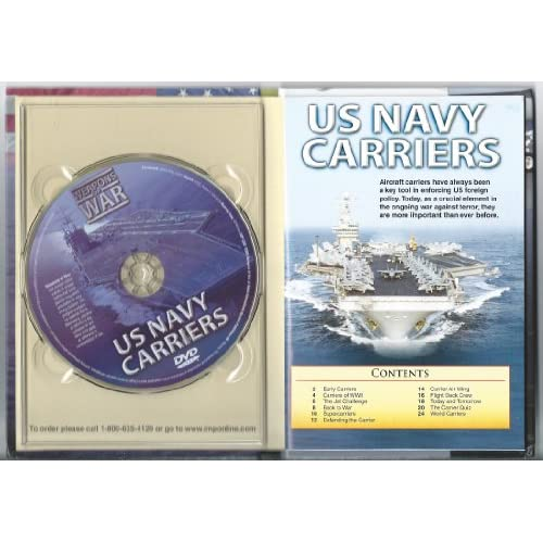 Image 2 of US Navy Carriers: Weapons Of War On DVD Educational