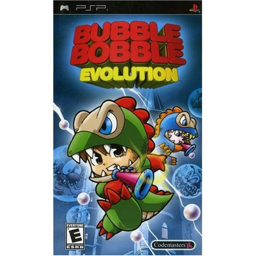 Image 0 of Bubble Bobble Evolution Sony For PSP UMD Arcade