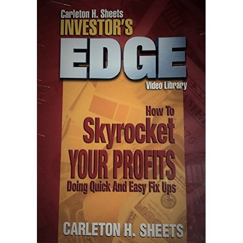 Image 0 of Carleton H Sheets Investor's Edge How To Skyrocket Your Profits Doing Quick And