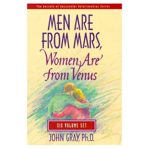 Image 0 of Men Are From Mars Women Are From Venus By John Gray 1995-10-02 On Audio Cassette