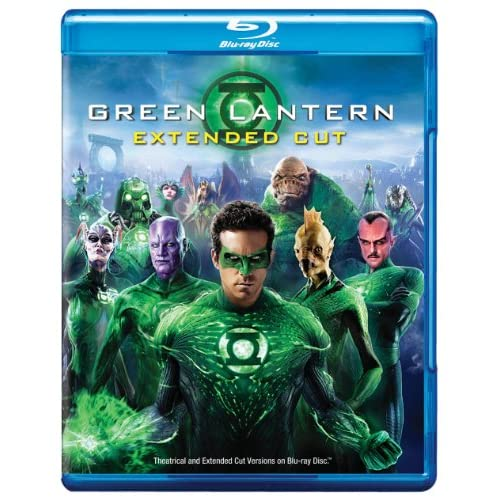 Image 0 of Green Lantern Blu-Ray On Blu-Ray With Ryan Reynolds