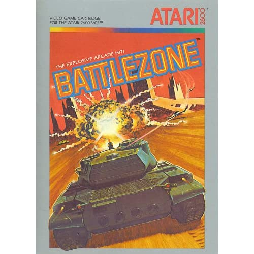 Battlezone For Atari Vintage