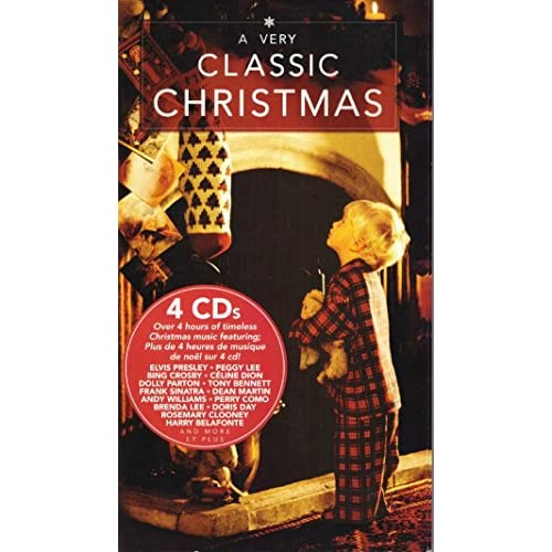 Image 0 of A Very Classic Christmas 4 CD Boxset By Elvis Presley Celine Dion Bing Crosby Do