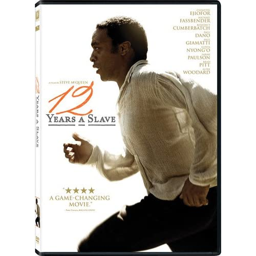 12 Years A Slave On DVD With Chiwetel Ejiofor Drama
