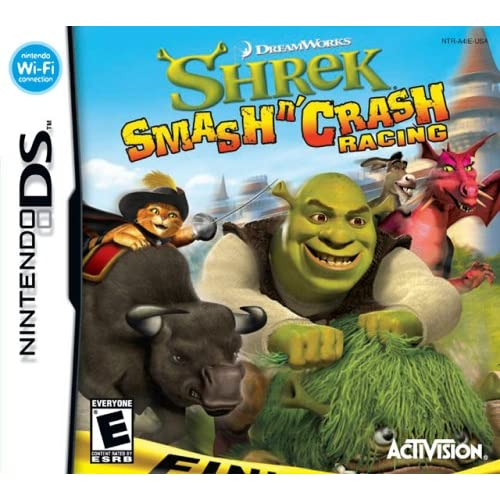 Image 0 of Shrek Smash 'N' Crash Racing For Nintendo DS DSi 3DS 2DS