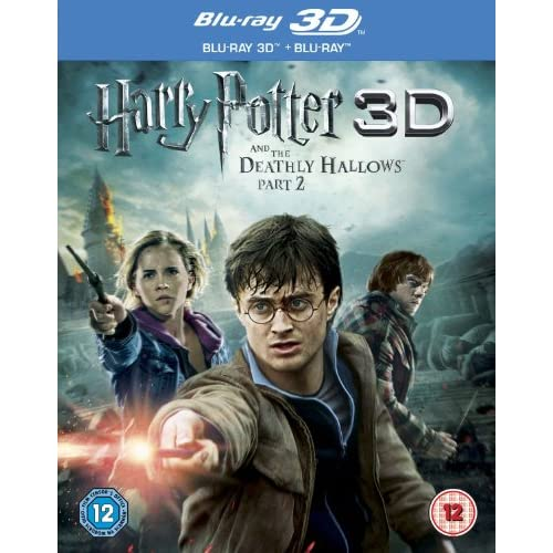Harry Potter And The Deathly Hallows Part 2 - 3D DVD On Blu-Ray
