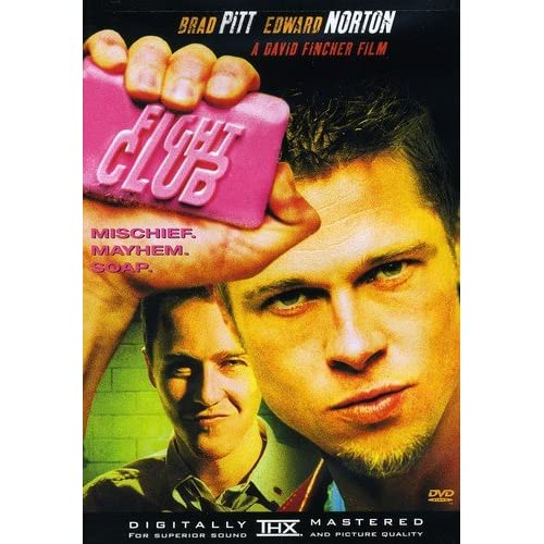 Fight Club Single On DVD With Edward Norton